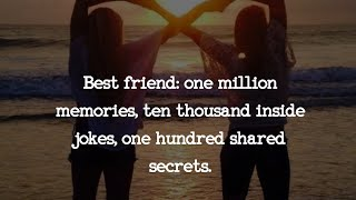 💖friendship Quotes On Friendship Day💖 || #friendshipday