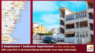 preview picture of video '2 slaapkamers 1 badkamer Appartement te Koop in Los Altos, Alicante, Spain'