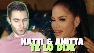 Natti Natasha X Anitta   Te Lo Dije REACTION!!