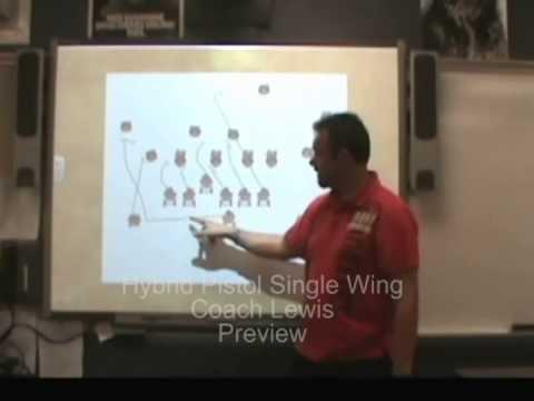 The Hybrid Single Wing-Pistol Offense Installation DVD/Video