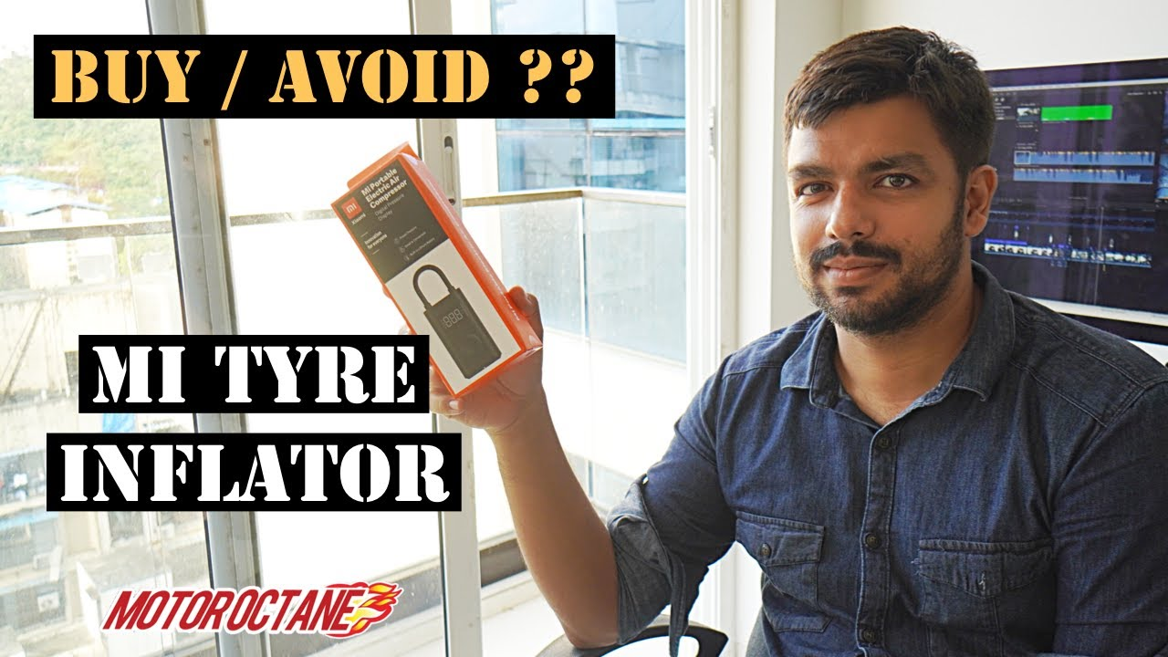 Motoroctane Youtube Video - Mi Car Tyre Compressor - Don't BUY | Hindi | MotorOctane