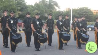 Banda de guerra Sables de Oro copa lince 2015