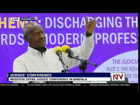 President Museveni opens Judges' conference in Kampala