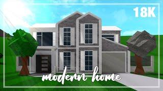 Roblox Bloxburg Modern House Build 123vid