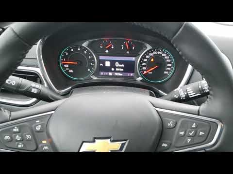 2019 Chevrolet Equinox Driver information center and steering wheel controls