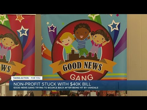 'Good News Gang' helping Detroit kids vandalized and left with $40,000 in damage