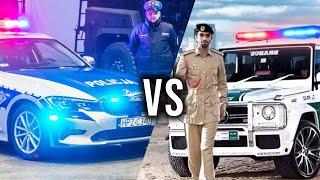 Dubajska VS Polska POLICJA – ze spotkania z którą wyjdziesz cało?