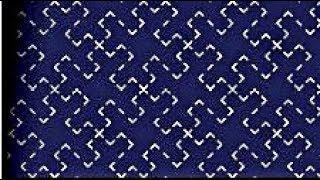 Sashiko Embroidery // Japanese Embroidery Tutorial-33