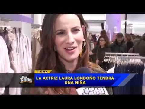 Lo Se Todo - La actriz Laura Londoño revelo el sexo del bebe que esta esperando