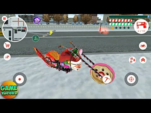 Crime Santa My new motorcycle, what do you think? # by Naxeex Game Android GamePlay FHD