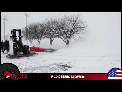 Winter is Here...Blow it away with Buffalo Turbine