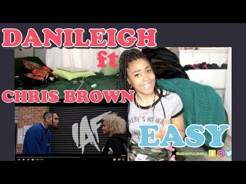 DaniLeigh - Easy (Remix) ft. Chris Brown | REACTION!💥