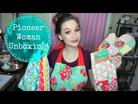 Pioneer Woman Collection Haul| Unboxing| Walmart Haul| Black Friday 2017