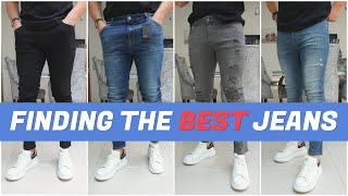 HUGE Skinny Jeans Haul & Try-On | Finding The Best Jeans | Mens Fashion 2020