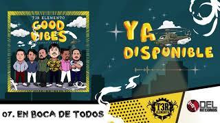 """En Boca De Todos   T3R Elemento  """" Good Vibes"""" (Buenas Vibras)   DEL Records 2019"""