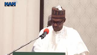 President Buhari raises alarm over impact of Covid-19 on global growth