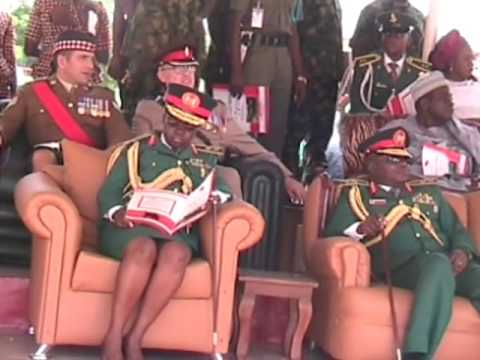 Nigeria Army Passing Out Parade