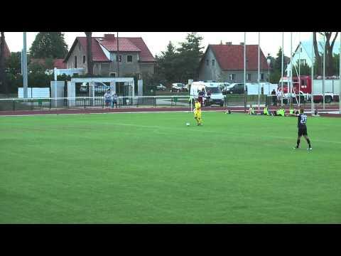 Bramki z meczu Polonia Lidzbark Warmiński - Stomil Olsztyn