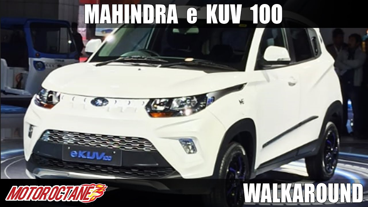 Motoroctane Youtube Video - Mahindra eKUV100 launched - Price announced | Auto Expo 2020 | Hindi | Motoroctane