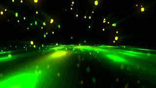 Видео обои - Световой дождь