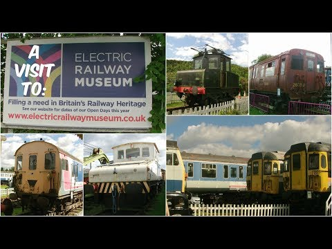 A visit to the Coventry Electric Railway Museum 13th August …