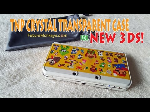 TNP Crystal Transparent Case for Nintendo NEW 3DS