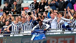 Millwall secured promotion to the Sky Bet Championship on Saturday afternoon with