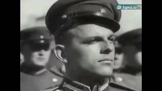Праздник 1 мая 1944 в СССР, на фронтах войны, в городах - Москва и Ленинград. Кинохроника