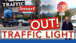 What to DO When a Traffic Light at an Intersection Fails