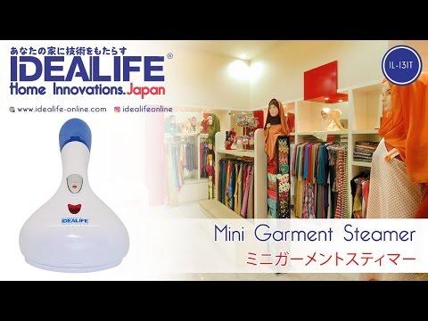 IDEALIFE: IL - 131T Mini Garment Steamer