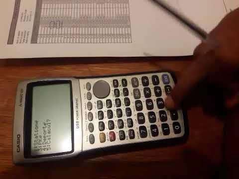 Calculatrice programmable casio topographie