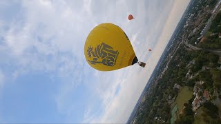 The sky my new area | FPV hot air balloon