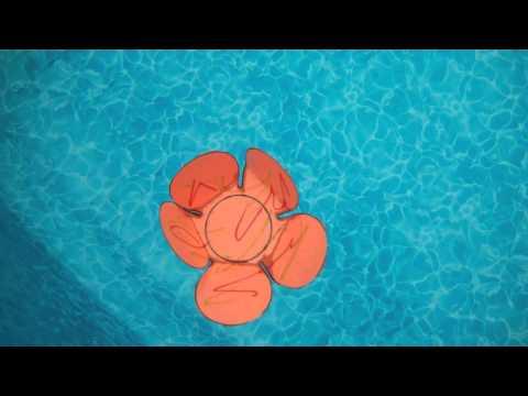 Fleurs en papier magique