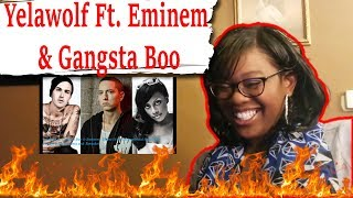 🔥 Mom reacts to Yelawolf ft. Gangsta Boo & Eminem - Throw It Up | Reaction