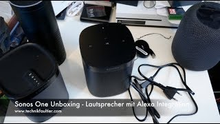Sonos One Unboxing - Lautsprecher Mit Alexa Integration