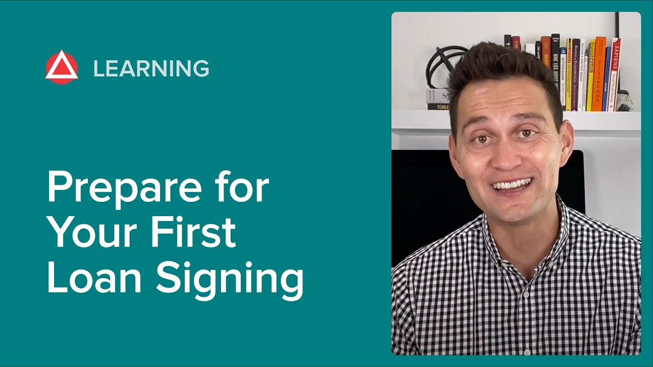 How to Get ready for Your Very First Loan Finalizing thumbnail