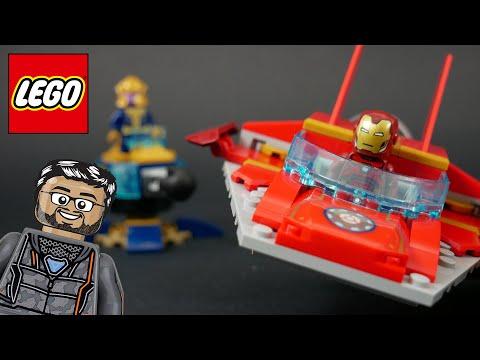 Vidéo LEGO Marvel 76170 : Iron Man contre Thanos