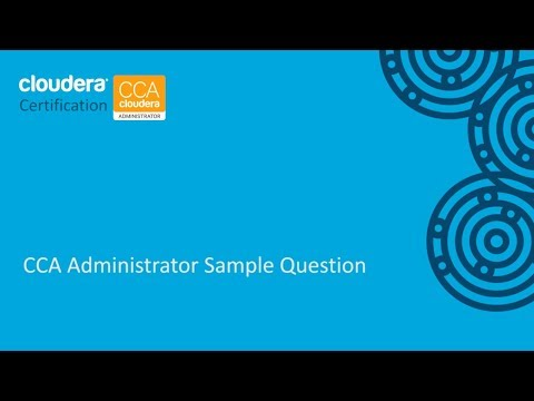 CCA Administrator Certification Sample Question (CCA131 ...