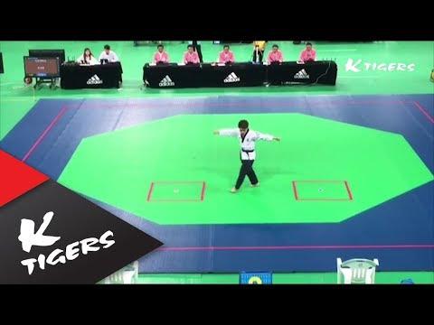 자유품새1위 K타이거즈 한영훈 [Free style poomsae 1st place K-Tigers Han Young-hun]