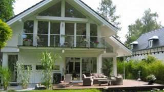 Modernes Fachwerkhaus in Holzskelettbauweise - Video von CONCENTUS Holzskelett-Haus