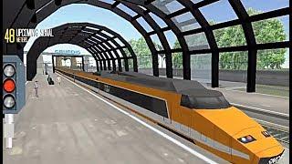 Euro Train Simulator - Quick Mode - Milano Centrale To Lyon St Exupery Using Orange SNCF TGV