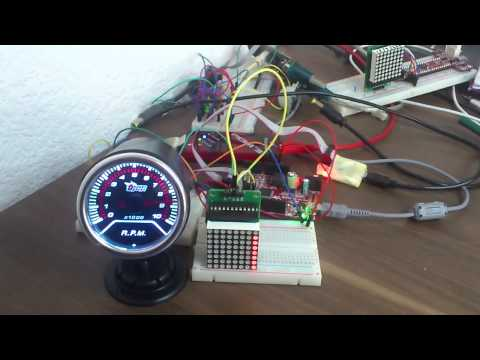 Monitor Your CPU With A Real Tachometer