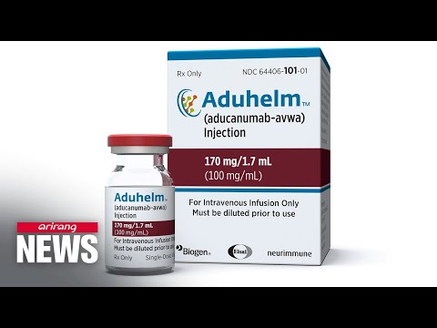 FDA approves first new drug for Alzheimer's in 20 years