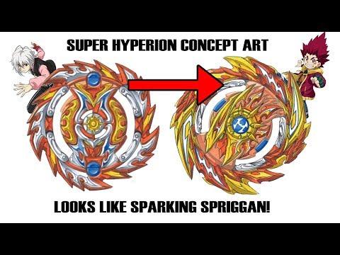 Hyperion's Original Design Looked Like a NEW Spriggan Beyblade Burst Sparking (Hyperion Concept Art)