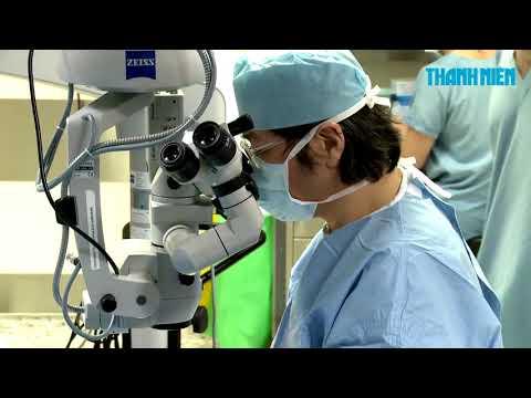 Chương trình phẫu thuật ghép giác mạc từ thiện tại Bệnh Viện FV