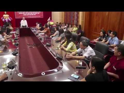 Gặp mặt, chia tay đồng chí Giám đốc Trần Xuân Hưng