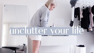How to Create a Clutter Free Life ☀️