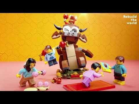 Vidéo LEGO Saisonnier 40417 : L'année du Buffle