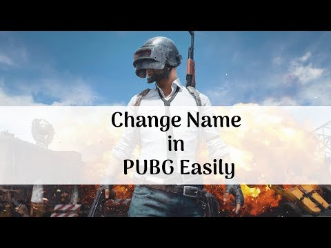 How to Change Name in Pubg Mobile - Trick