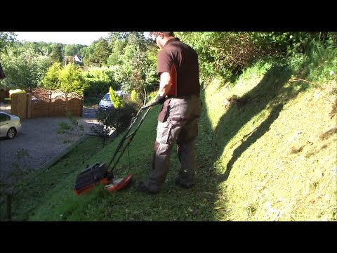 Flymo L470 Hover Mower In Action - Lawn Care - Win